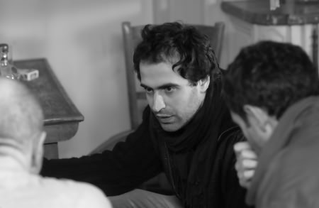 Gela Babluani directing 13 TZAMETI, a Palm Pictures Release.jpg
