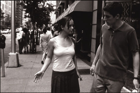 Christina Ricci and Jason Biggs in Woody Allen's Anything Else