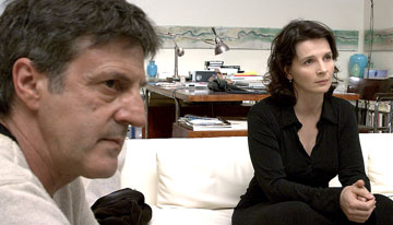 Daniel Auteuil and Juliette Binoche