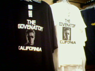 governator t-shirts